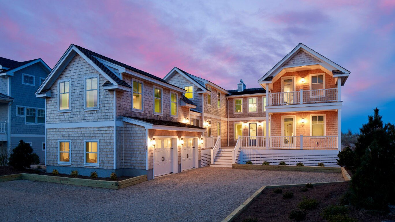 Bord de la mer luxury custom beach home by marnie homes for Custom beach house