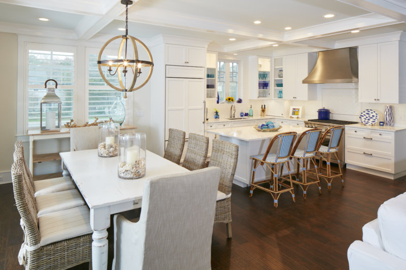 Design standards typically dictate that light fixtures should hang 30 inches above the table. While this is a good rule of thumb also take the visual ... & How to Make a Statement with Lighting - Marnie Custom Homes azcodes.com