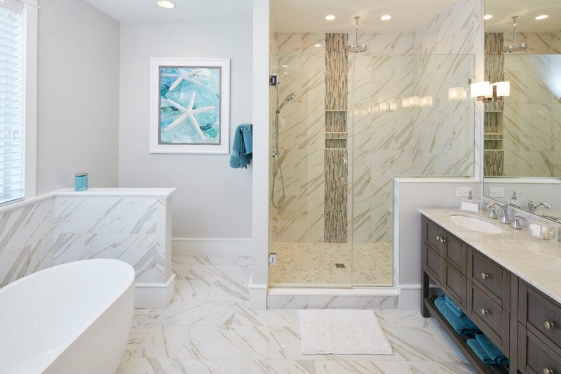 14 Times Bathroom Tile Stole the Show | Marnie's Notebook