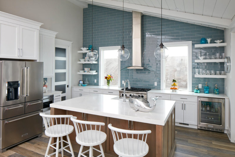Another Option For A $500 Budget Is To Install Open Shelving. Open Shelving  Works In Kitchens Of All Sizes, Styles, And Layouts, But Works Especially  Well ...