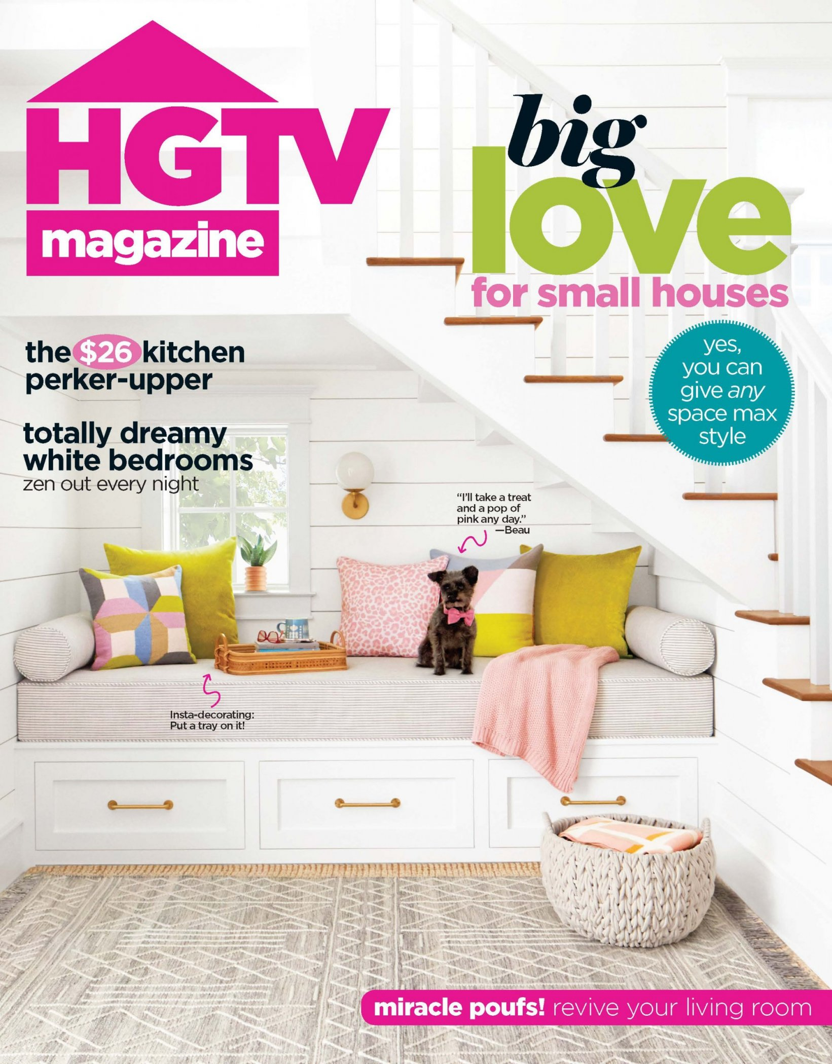 HGTV March Cover